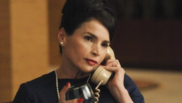 Julia Ormond appears in a 2012 episode of the hit AMC series 'Mad Men.'