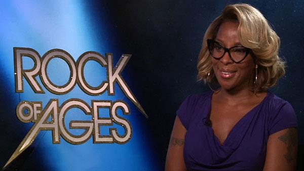 Mary J. Blige talks to OnTheRedCarpet.com about 'Rock of Ages,' which hits theaters on June 15, 2012.