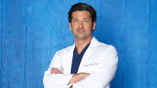 Patrick Dempsey appears in a 2012 publicity photo for ABC's 'Grey's Anatomy.'