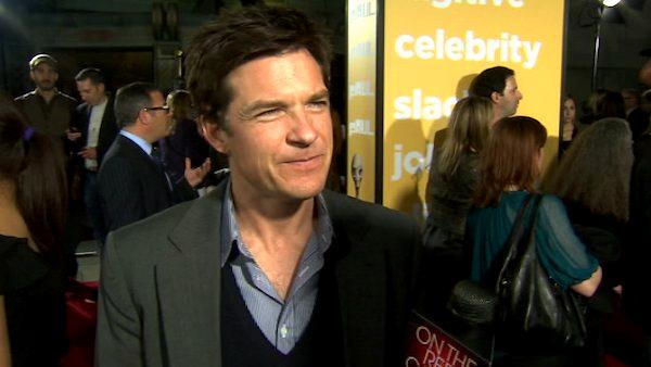Jason Bateman talks to OnTheRedCarpet.com at the Hollywood premiere of 'Paul.'