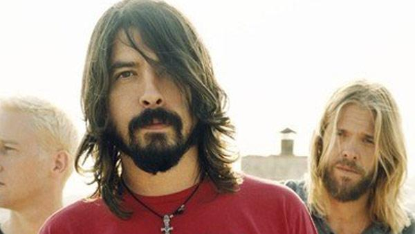 Chris Shiflett, Dave Grohl and Taylor Hawkins appear in an undated photo from the band's official Facebook page, Facebook.com/foofighters.