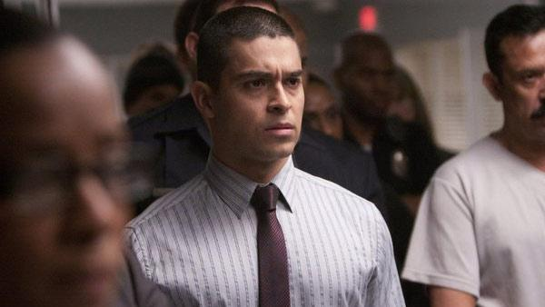 Wilmer Valderrama appears in a scene from the 2012 Fox television series 'Awake.'