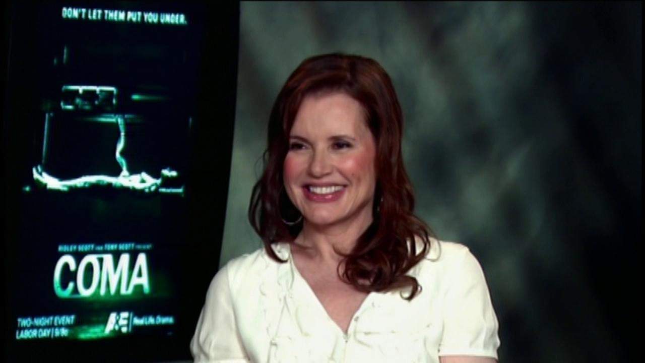 Geena Davis talks to OTRC.com in an August 2012 satellite interview