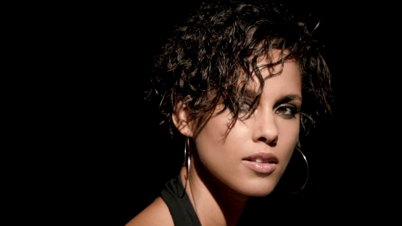 Alicia Keys appears in a scene from her 2012 music video Brand New Me.