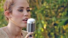 Miley Cyrus appears in a video for Jolene filmed in the summer of 2012. - Provided courtesy of www.youtube.com/user/mileyofficialonline