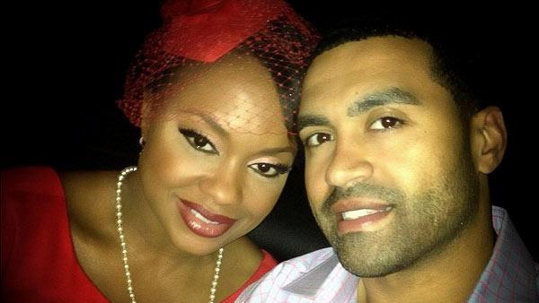 Phaedra Parks and husband Apollo Nida pose in a photo posted on Parks Instagram account on Dec. 25, 2012. - Provided courtesy of Instagram.com/phaedraparks/