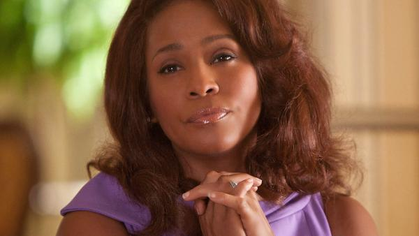 Whitney Houston appears in a scene from the 2012 movie 'Sparkle.'