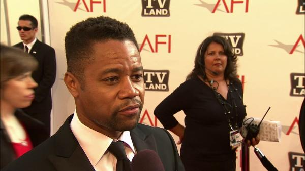 Actor Cuba Gooding Jr. is seen at the 39th AFI Life Achievement Award honoring Morgan Freeman on June 9, 2011, in Culver City.