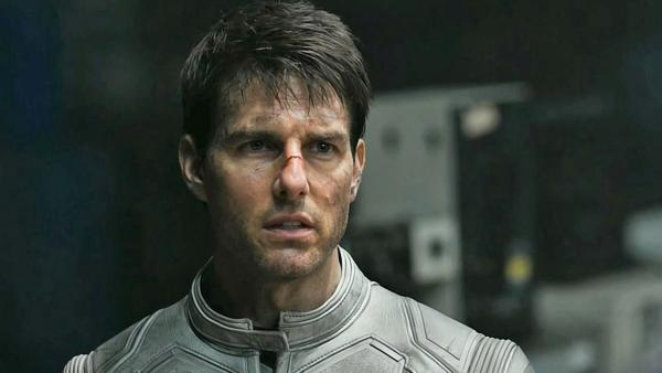 Tom Cruise appears in a scene from the 2013 film Oblivion. - Provided courtesy of Universal Pictures