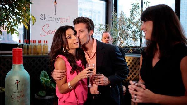 Bethenny Frankel and Jason Hoppy appear in a 2012 photo from her reality series Bethenny Ever After. - Provided courtesy of Bravo