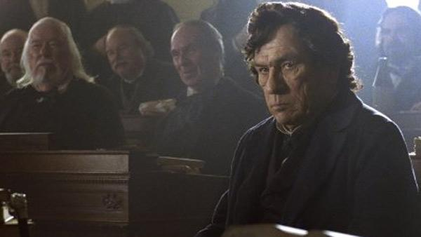 Tommy Lee Jones appears in a scene from the 2012 movie 'Lincoln.'