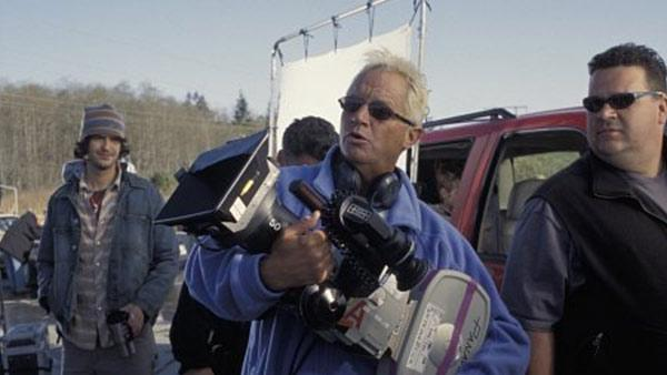 Director David R. Ellis appears on the set of Final Destination 2 in 2003. - Provided courtesy of Shane Harvey / New Line Cinema