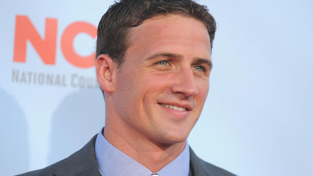 Ryan Lochte arrives at the ALMA Awards on Sunday, Sept. 16, 2012, in Pasadena, Calif.
