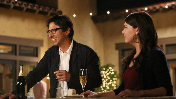 Ray Romano appears with Lauren Graham in an episode of NBCs Parenthood that aired on Sept. 25, 2012.   - Provided courtesy of Danny Feld / NBC