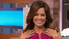 Brooke Burke-Charvet appears on ABCs Good Morning America on Jan. 8, 2013. - Provided courtesy of ABCNews