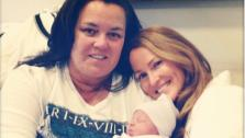 Rosie ODonnell and wife Michelle Rounds appear with this new baby girl, Dakota, in an Instagram photo ODonnell posted on Jan. 9, 2013. - Provided courtesy of twitter.com/Rosie/status/289089239294033920 / instagram.com/p/URkSICjmJp/