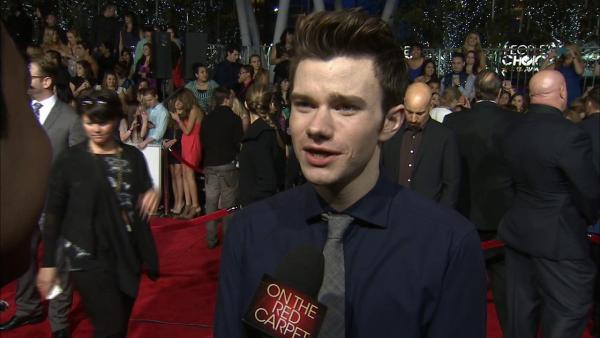 Chris Colfer at People's Choice Awards