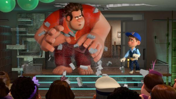 A publicity photo for Walt Disney Pictures' 2012 animated film, 'Wreck-It Ralph.'