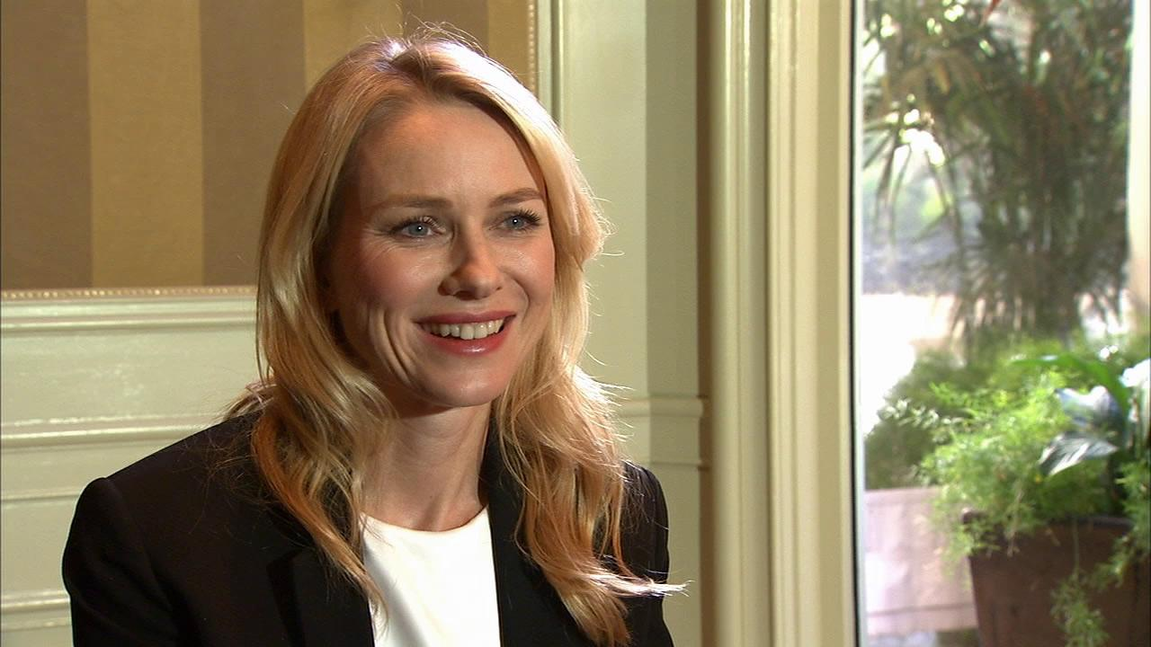 Naomi Watts talks to OTRC.com on Jan. 10, 2013 after receiving an Oscar nomination for The Impossible.