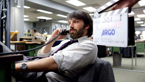 Ben Affleck appears in a promotional photo from the 2012 film 'Argo.'