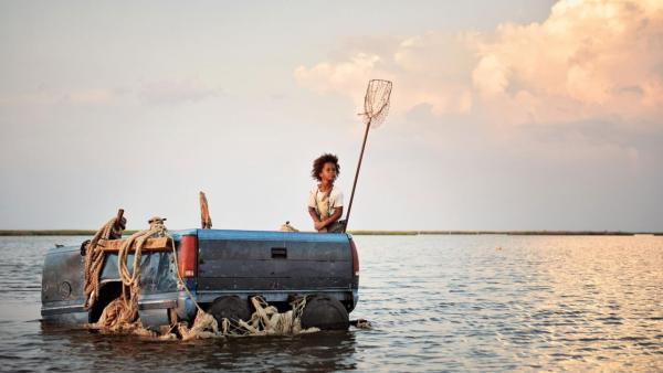 Quvenzhane Wallis appears in a scene from the 2012 film 'Beasts of the Southern Wild.'