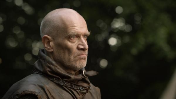 Wilko Johnson appears in a scene from the HBO series Game of Thrones. - Provided courtesy of HBO