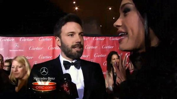 Affleck, Mirren attend Palm Springs International Film Festival.