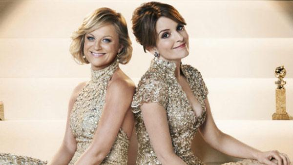 Amy Poehler and Tina Fey appear in a publicity photo for the 2013 Golden Globes. They are co-hosting the ceremony, which takes place on Jan. 13, 2013. - Provided courtesy of Hollywood Foreign Press Association