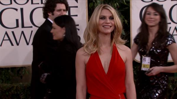 Claire Danes appears at the 2013 Golden Globe Awards in Beverly Hills, California on Jan