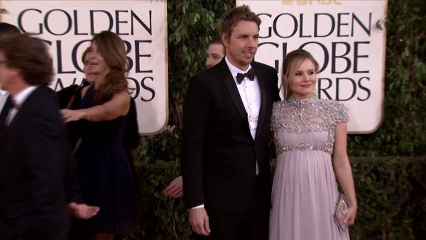 Kristen Bell turns heads on the 2013 Golden Globes red carpet