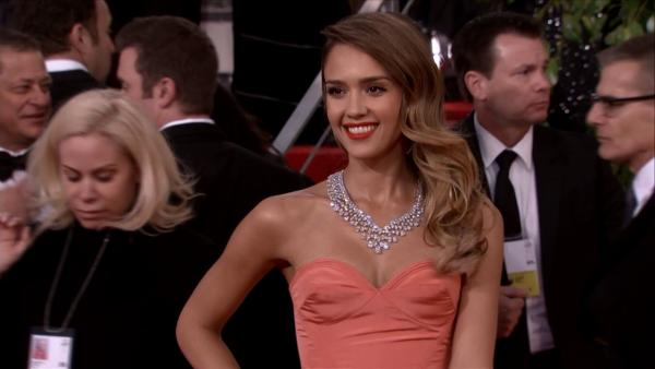 Jessica Alba appears at the 2