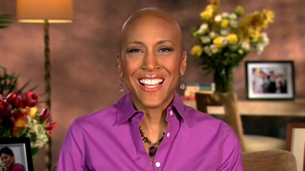 Robin Roberts appears on Good Morning America on Monday, Jan. 14, 2013.