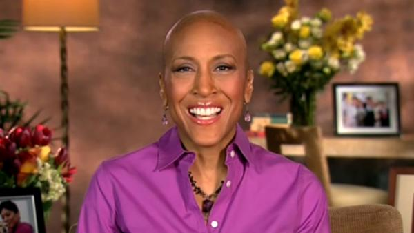 Robin Roberts appears on Good Morning America on Monday, Jan. 14, 2013. - Provided courtesy of ABC