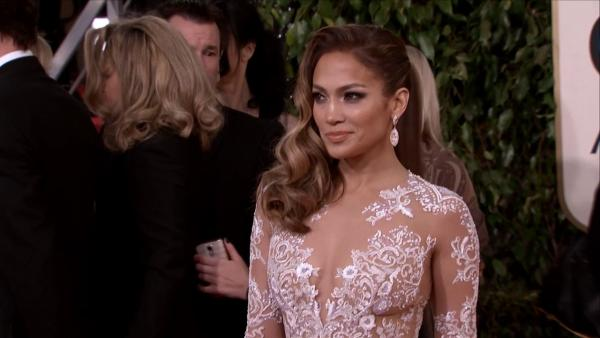 Jennifer Lopez appears at the 2013 Golden Glob
