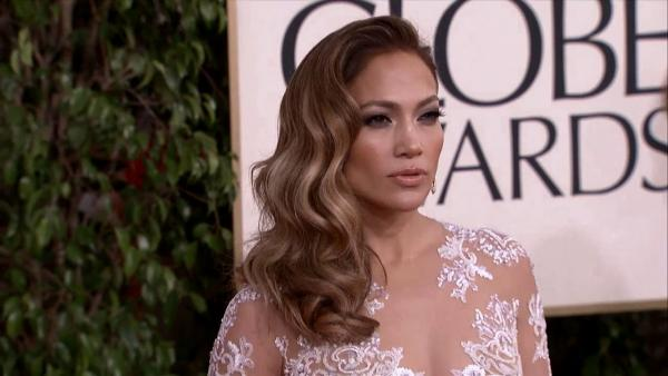 Jennifer Lopez appears at the 2013 Golden Globe Awards in Beverly Hills
