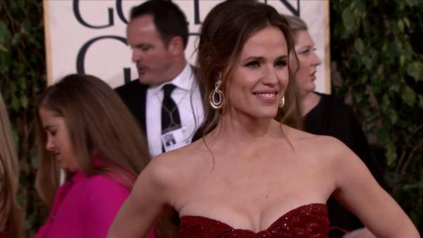 Jennifer Garner appears at the 2013 Golden Globe Awar