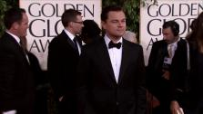 Leonardo DiCaprio appears at the 2013 Golden Globe Awards in Beverly Hills, California on Jan. 13, 2013. - Provided courtesy of OTRC