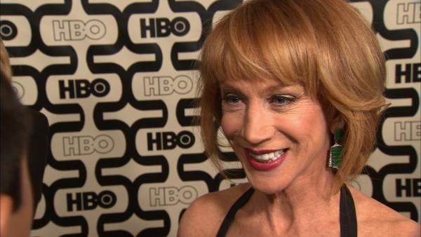 Kathy Griffin talks Oscars, Jodie Foster's Globes speech
