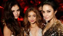 Selena Gomez, Sarah Hyland and Vanessa Hudgens attend The Weinstein Companys 2013 Golden Globe Awards after party held at The Old Trader Vics at The Beverly Hilton Hotel on January 13, 2013 in Beverly Hills, California. - Provided courtesy of Jeff Vespa / Wire Image