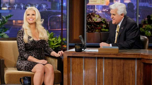 Jessica Simpson appears in a promotion photo for her appearance on the Tonight Show, on January 15, 2013. - Provided courtesy of NBC