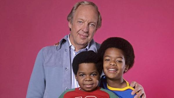 Conrad Bain, Todd Bridges and Gary Coleman appear in an undated cast publicity photo for Diffrent Strokes. - Provided courtesy of NBC