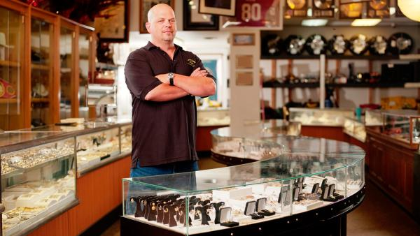Rick Harrison appears in a publicity photo for the History Channel series Pawn Stars. - Provided courtesy of History Channel