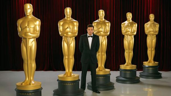 Seth MacFarlane appears in a promotional photo for the 2013 Oscars. - Provided courtesy of A.M.P.A.S.