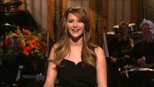 Jennifer Lawrence appears on the January 19, 2013 episode of Saturday Night Live.