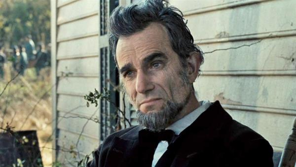 Daniel Day Lewis appears in a still from the 2012 film 'Lincoln