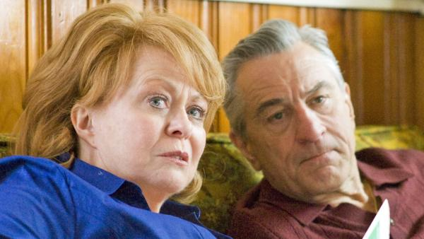 Jacki Weaver and Robert De Niro appear in a scene from the 2012 film 'Silver Linings Playbook.'