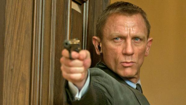 Daniel Craig appears as James Bond in the 2012 film Skyfall, a scene set in Shanghai. - Provided courtesy of Sony Pictures / Francois Duhamel