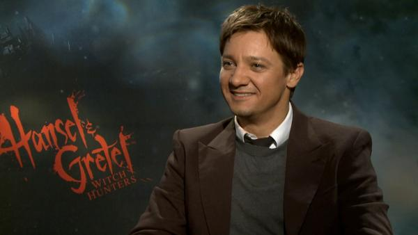 Jeremy Renner talks to OTRC.com about their 2013 action film Hansel and Gretel. - Provided courtesy of OTRC