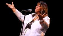 Aretha Franklin performs during A Tribute to Marvin Hamlisch, a memorial concert, at The Juilliard Schools Peter Jay Sharp Theater, Tuesday, Sept. 18, 2012 in New York. - Provided courtesy of ABC News / Jason DeCrow/Invision/AP Images
