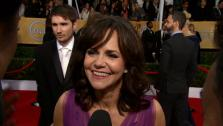 Sally Field talks to OTRC.com at the 2013 SAG Awards in Los Angeles on Jan. 27, 2012. - Provided courtesy of OTRC